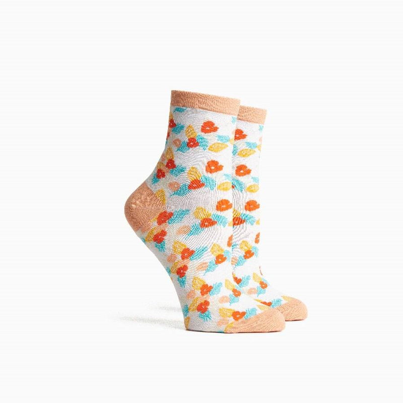 Women's Tutti Frutti Socks - Bright White