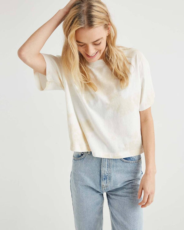 Women's Relaxed SS Crop Tee