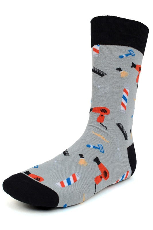 Men's Barber Socks