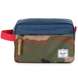 Chapter Travel Kit Carry-On - Navy/Red/Woodland Camo