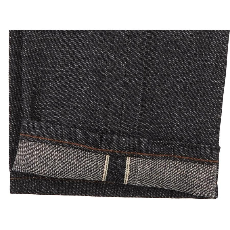 FINAL SALE Naked and Famous Super Skinny Guy Indigo Hemp