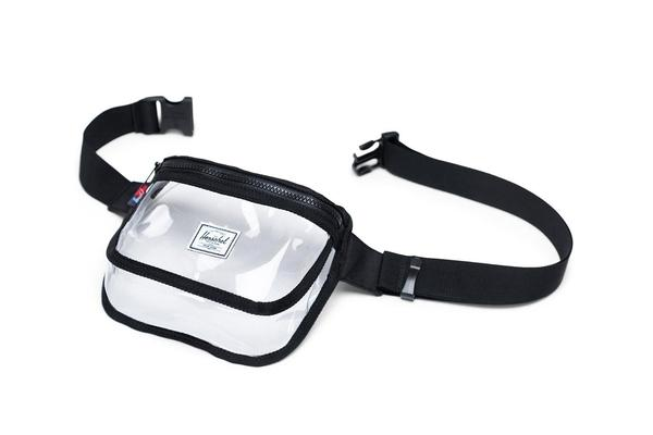 Fifteen Hip Pack | Clear  - Black/Clear