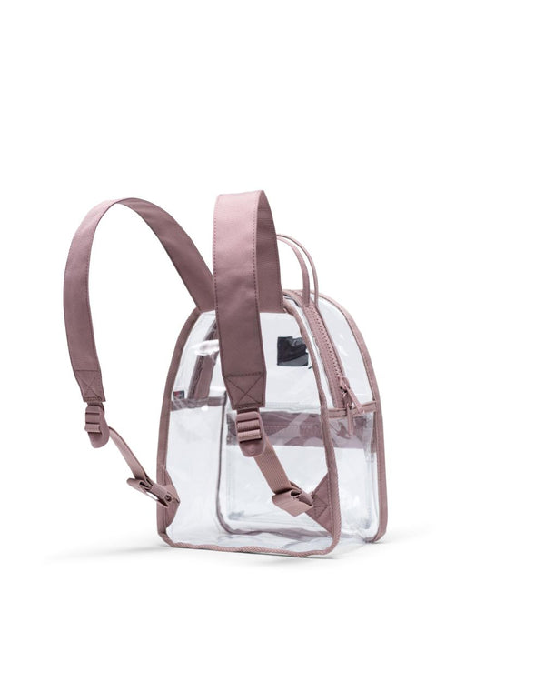 Nova Backpack Mini | Clear - Ash Rose/Clear