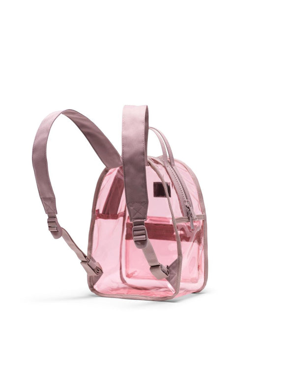 Nova Backpack Mini | Clear - Ash Rose