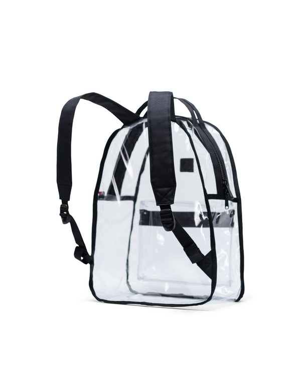 Nova Backpack Mid-Volume | Clear - Black/Clear