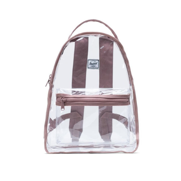 Nova Backpack Mid-Volume | Clear - Ash Rose/Clear