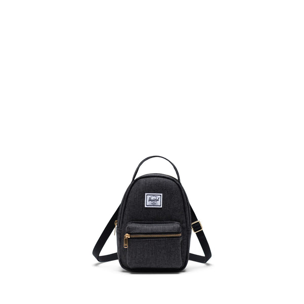 Nova Crossbody - Black Crosshatch
