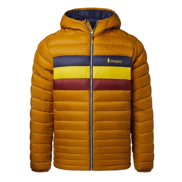 Fuego Hooded Down Jacket
