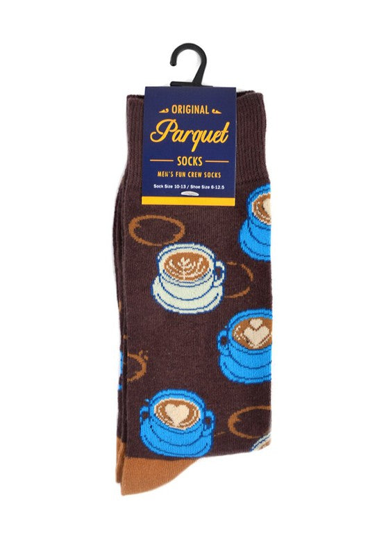 Men's Brown Coffee Socks