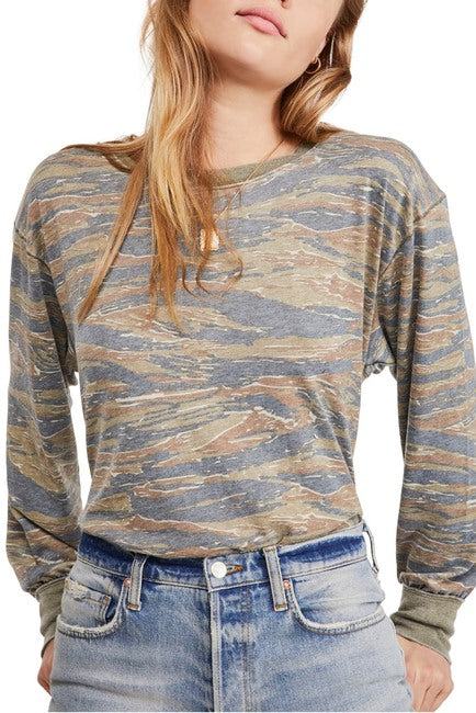 Arielle Printed Long Sleeve