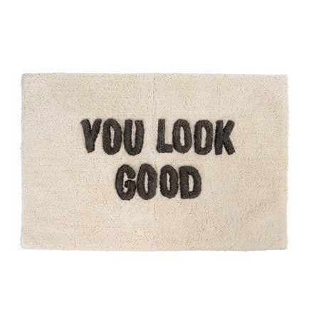 You Look Good Bath Mat