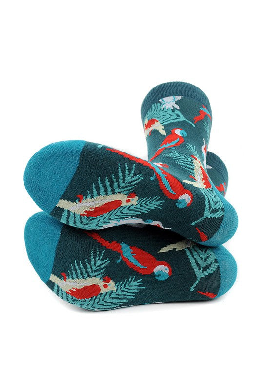 Men's Tropical Birds Socks
