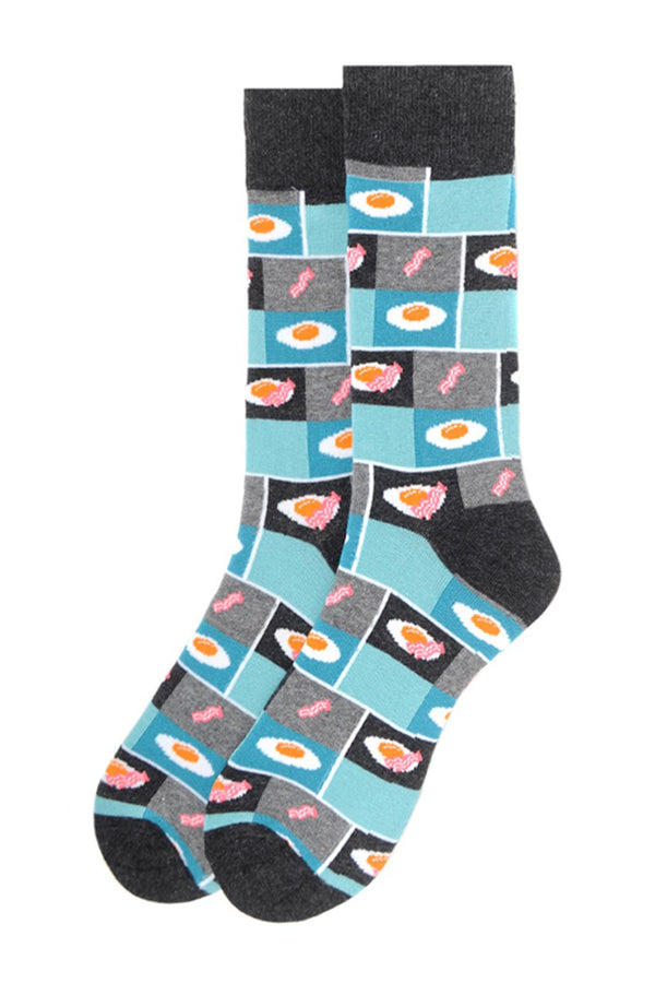 Men's Bacon & Eggs Socks
