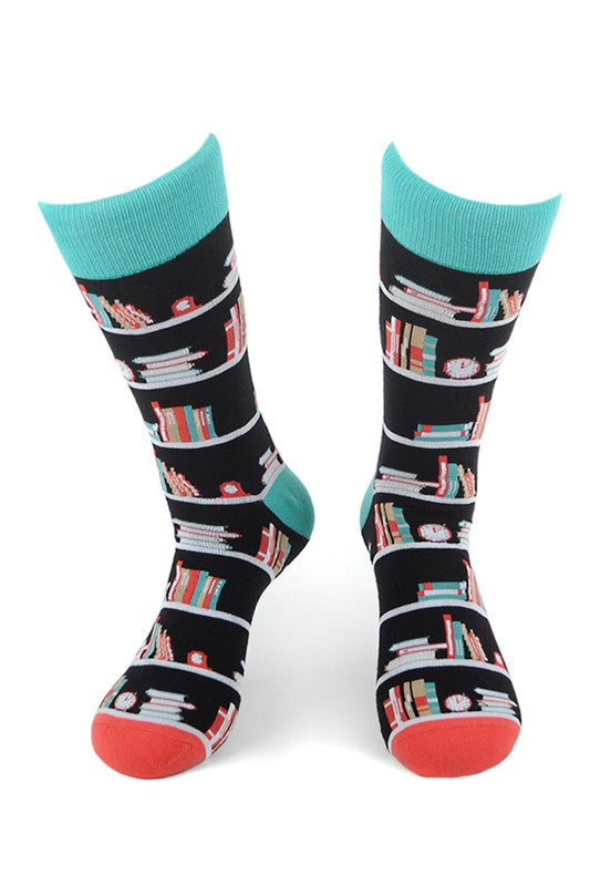 Men's Book Shelf Socks