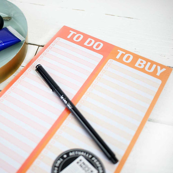 Perforated Pad: To Do/Buy
