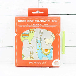 FINAL SALE Good Lunch Sandwich Box Mama Llama