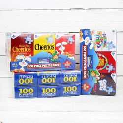 6 Pack Cereal Boxes Jigsaw Puzzle