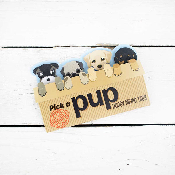 Puppy Sticky Memo Set