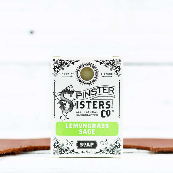 Spinster Sisters Co. Bath Soap - Lemongrass Sage
