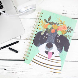 Spiral Notebook - Fancy Dog