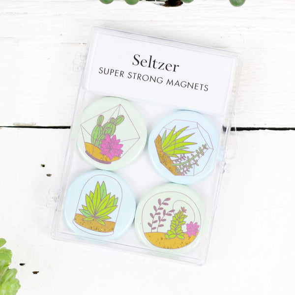 Terrariums Magnet Set