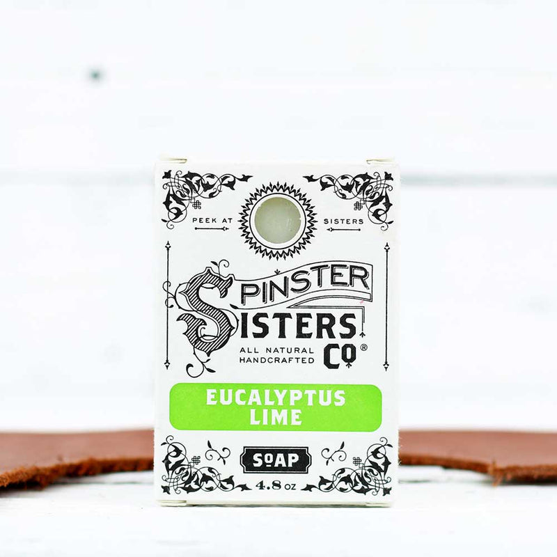 Spinster Sisters Co. Bath Soap - Eucalyptus Lime