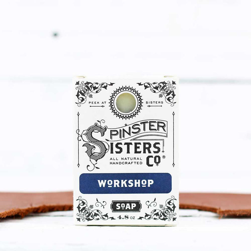 FINAL SALE Spinster Sisters Co. Bath Soap - Workshop