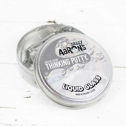 "Liquid Glass 4"" - Thinking Putty"
