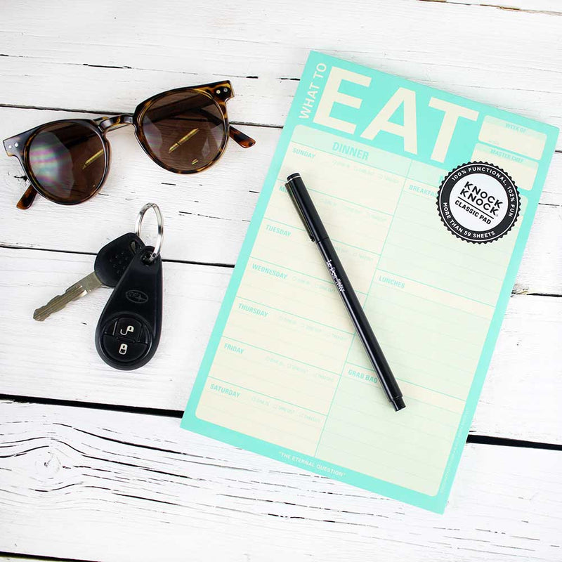 Pad: What to Eat (Teal)