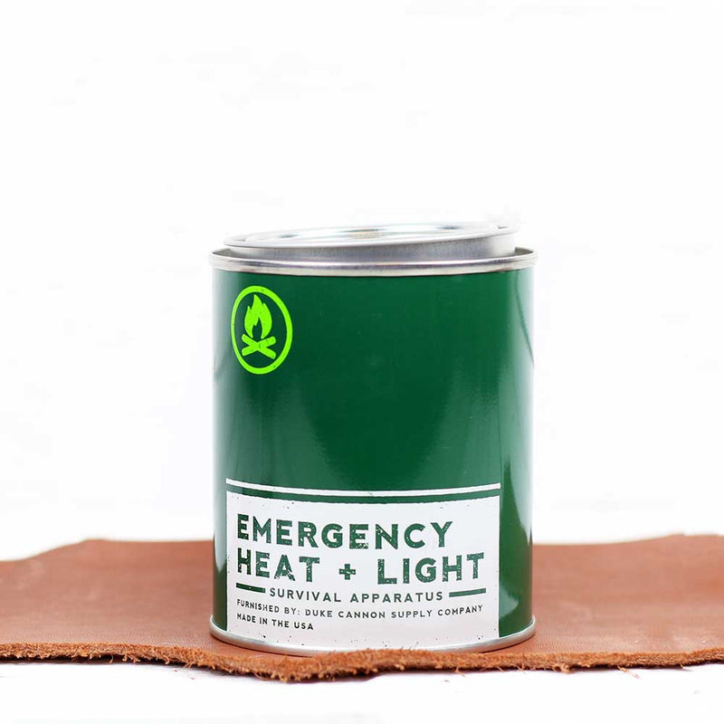 Emergency Heat + Light Candle