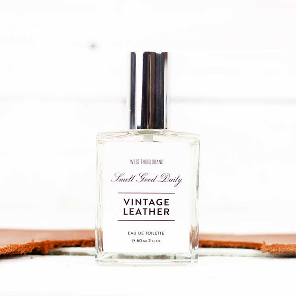 West Third Brand Vintage Leather Cologne