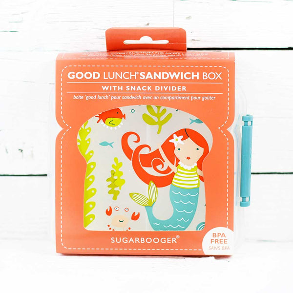 FINAL SALE Good Lunch Sandwich Box Mermaid