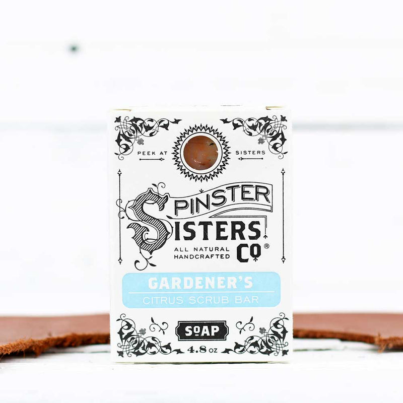 Spinster Sisters Co. Bath Soap - Gardener's Citrus