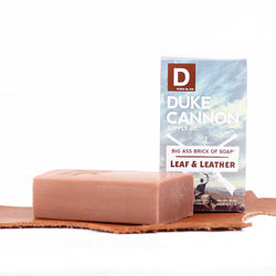 Big Ass Brick of Soap - Leaf and Leather