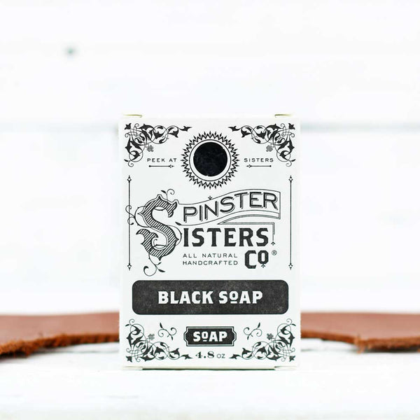 Spinster Sisters Co. Bath Soap - Black Soap