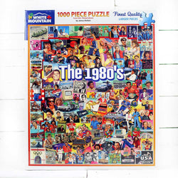The Eighties Jigsaw Puzzle
