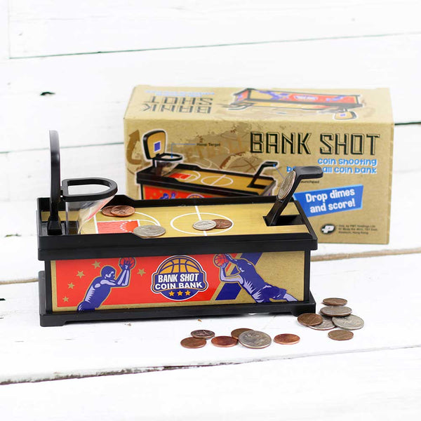 Bank Shot Coin Bank