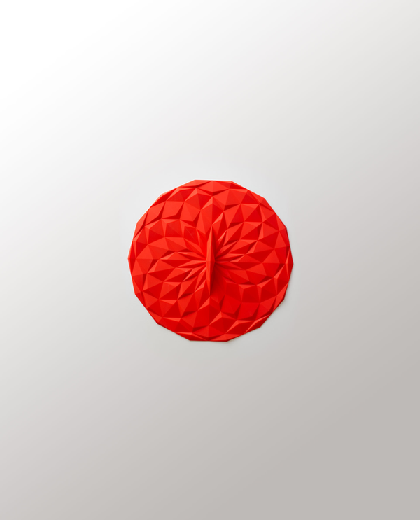 6in Suction Lid - Red