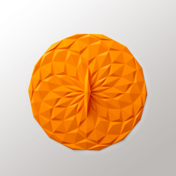 10in Suction Lid - Orange