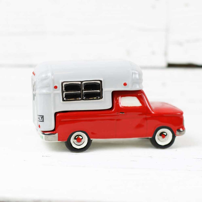 Pickup Camper Salt & Pepper Shaker Set