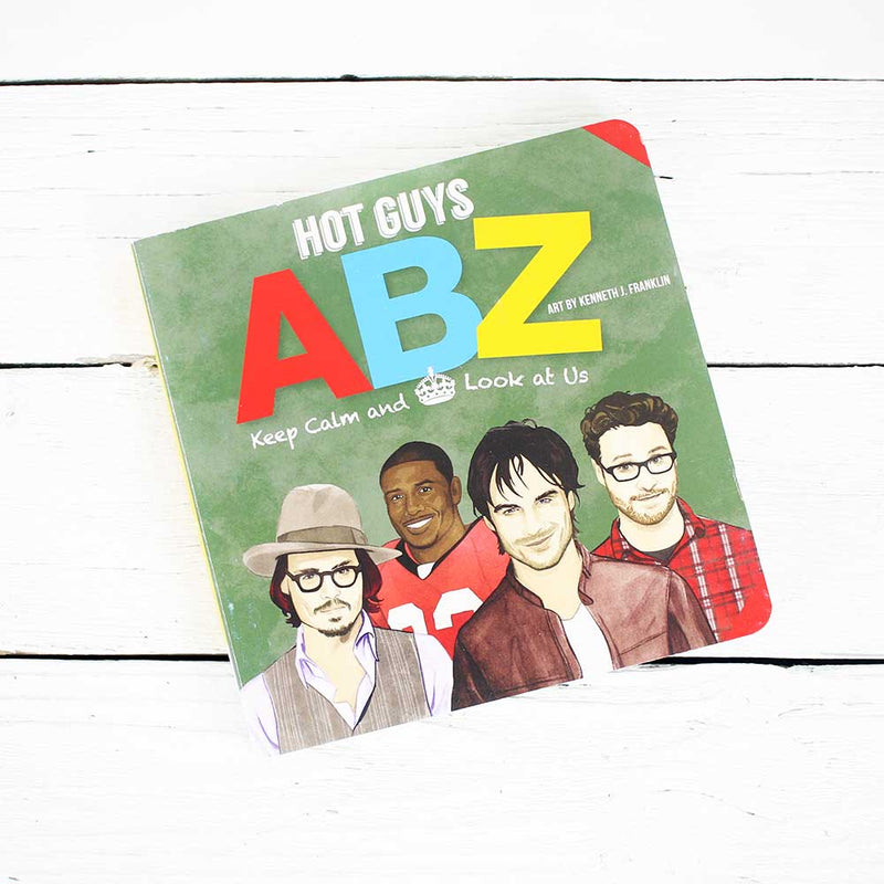 Workman Publishing Hot Guys ABZ