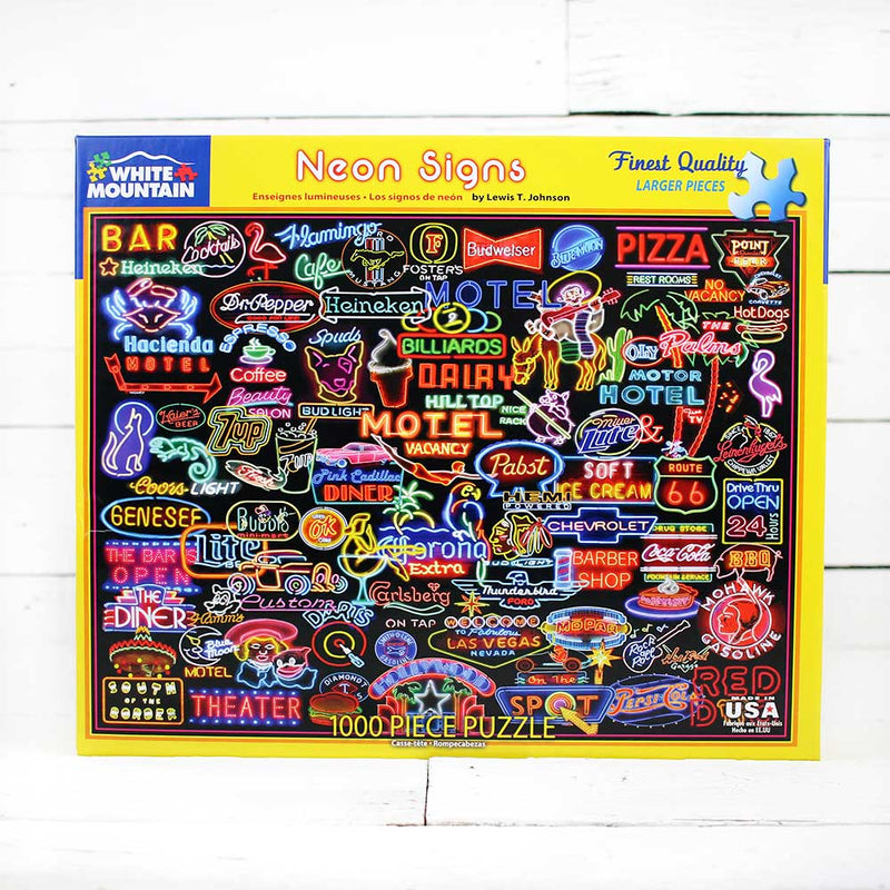 Neon Signs Jigsaw Puzzle