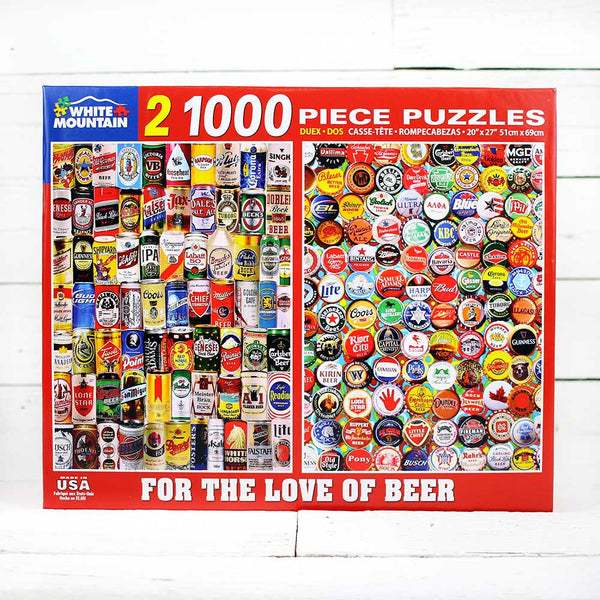 For The Love of Beer Jigsaw Puzzle