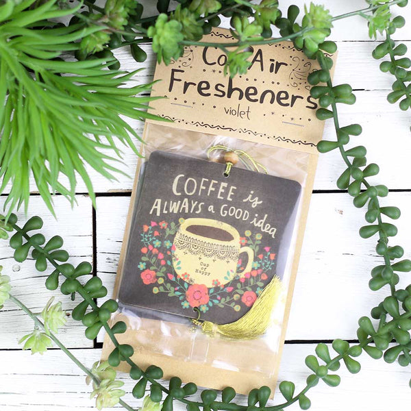 "Air Freshener ""Coffee is a Good Idea"""