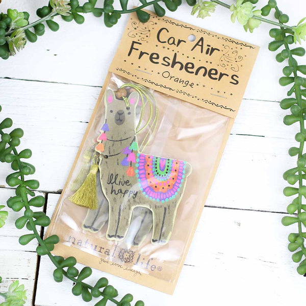 "Air Freshener ""Llive Happy Llama"""