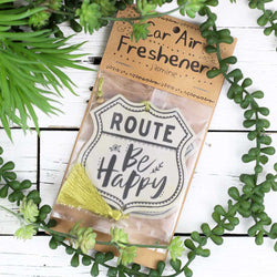 "Air Freshener ""Route Be Happy"""
