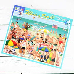 What A Beach! Jigsaw Puzzle