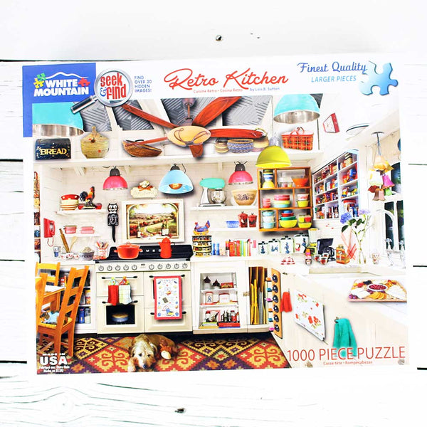 Retro Kitchen See & Find Jigsaw Puzzle
