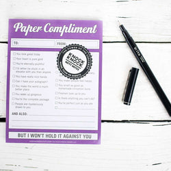 Nifty Note: Paper Compliments