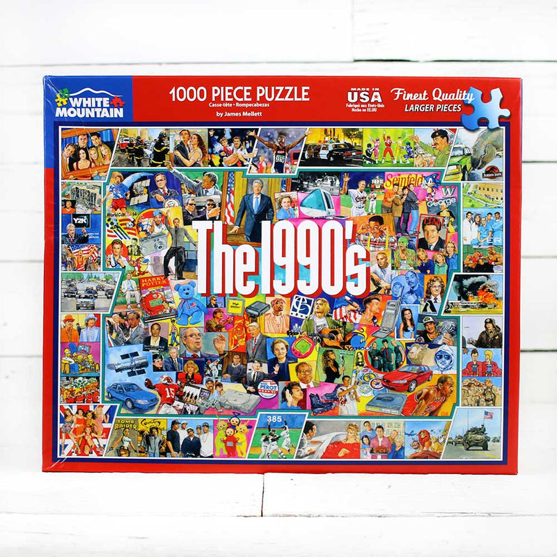 The Nineties Jigsaw Puzzle
